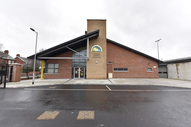 Bunscoil Bheann Mhadagáin & Cliftonville Pitch, Belfast